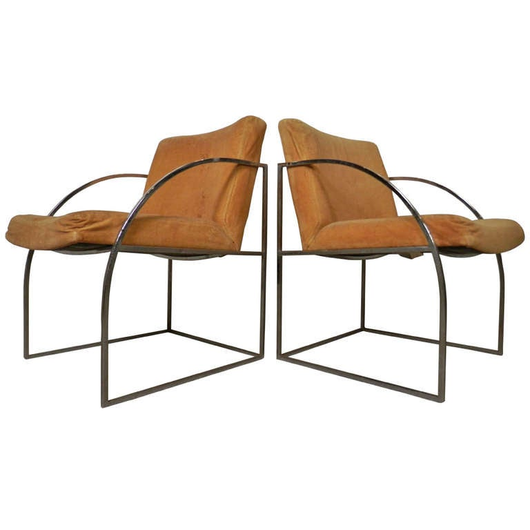 Milo Baughman Designed Lounge Chairs for Thayer Coggin