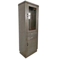 Industrial Metal Display Cabinet