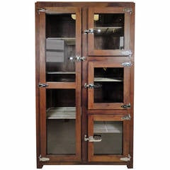 Impressive Ice Chest Style Display Cabinet