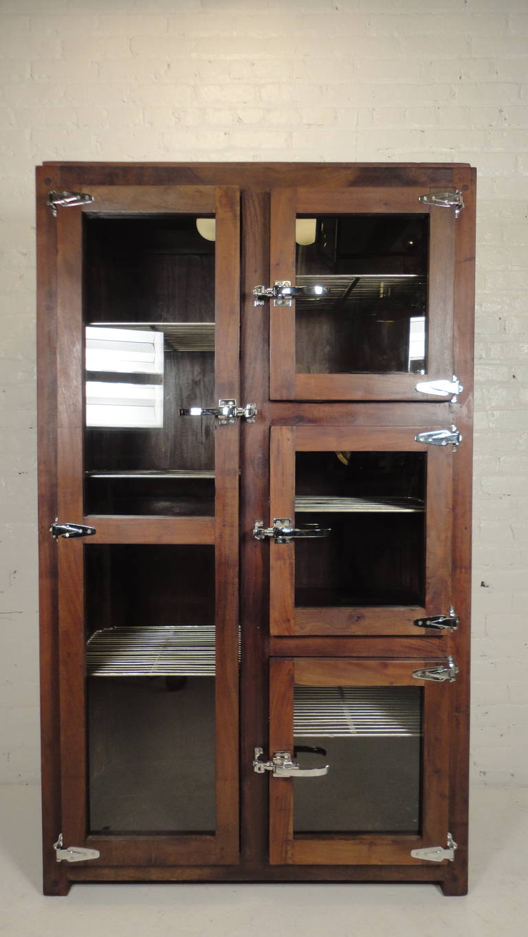 Impressive Ice Chest Style Display Cabinet For Sale At 1stdibs