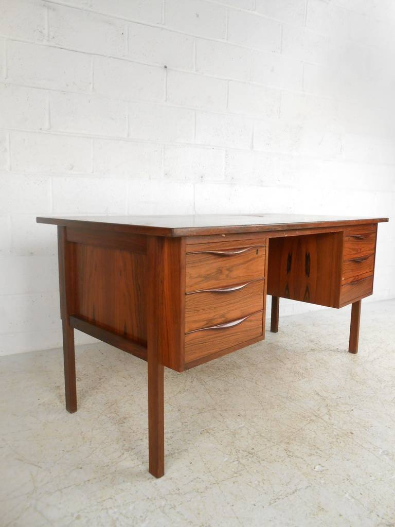 Danish modern executive desk for sale at 1stdibs for Modern office desk for sale