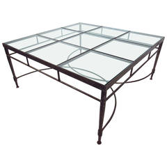 Contemporary Modern Decorator Style Coffee Table