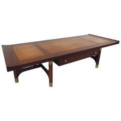 Midcentury Two-Tone Coffee Table by Weiman
