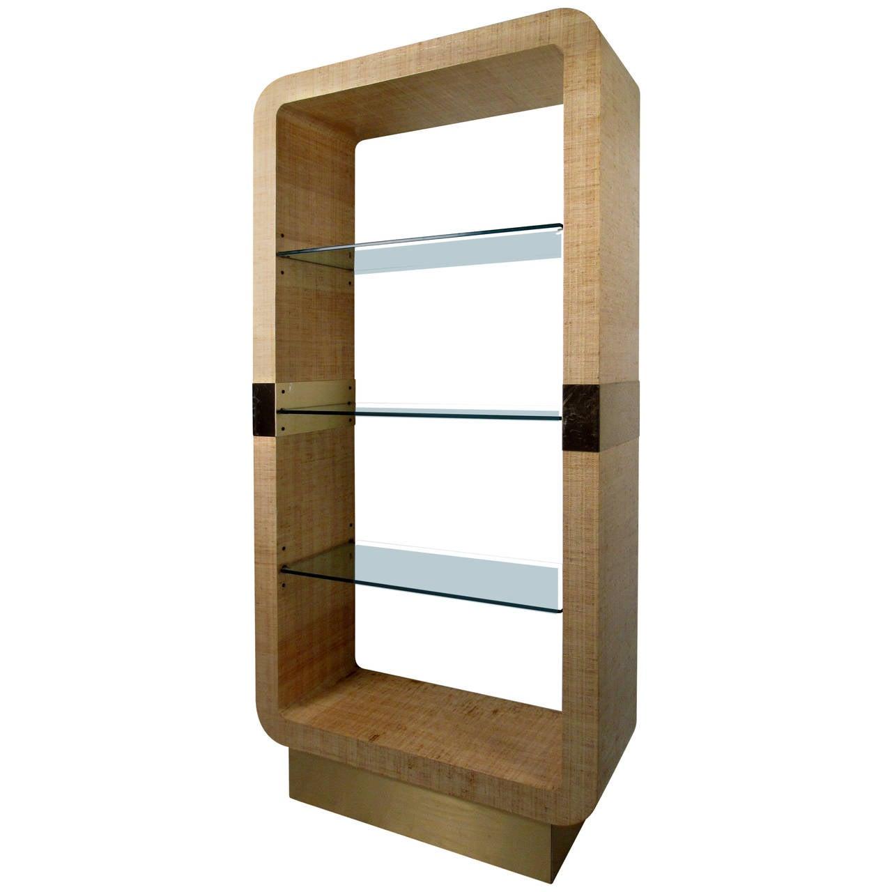 mid century modern karl springer style tag re for sale at 1stdibs. Black Bedroom Furniture Sets. Home Design Ideas