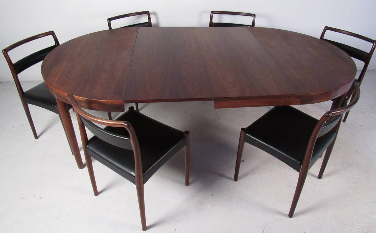Mid Century Modern Randers Mobelfabirk Dining Set For Sale