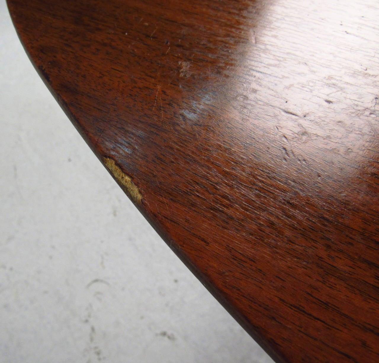 Scandinavian Modern Surfboard Coffee Table With Shelf For Sale 1