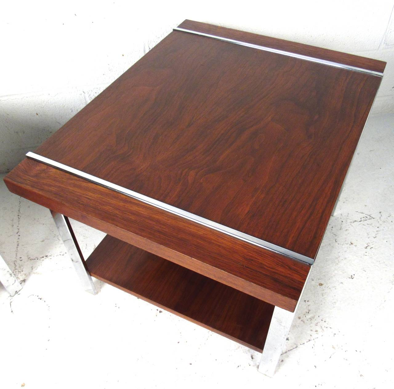 Mid-Century Modern End Tables by Lane Furniture In Good Condition For Sale In Brooklyn, NY