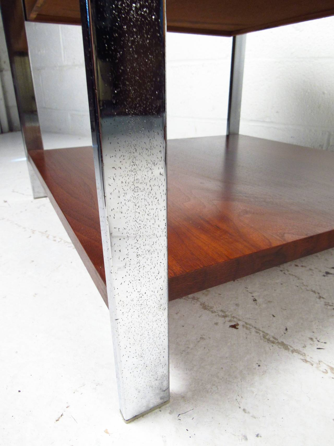 Mid-20th Century Mid-Century Modern End Tables by Lane Furniture For Sale