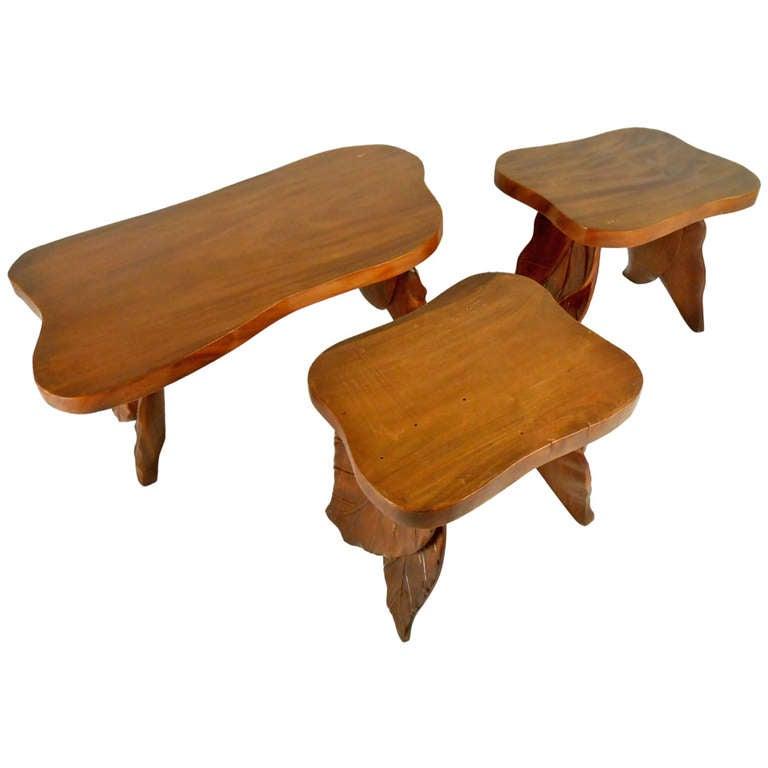 Vintage Coffee Table Set