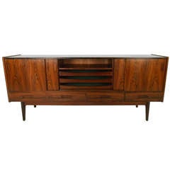 Rosewood Sliding Door Sideboard