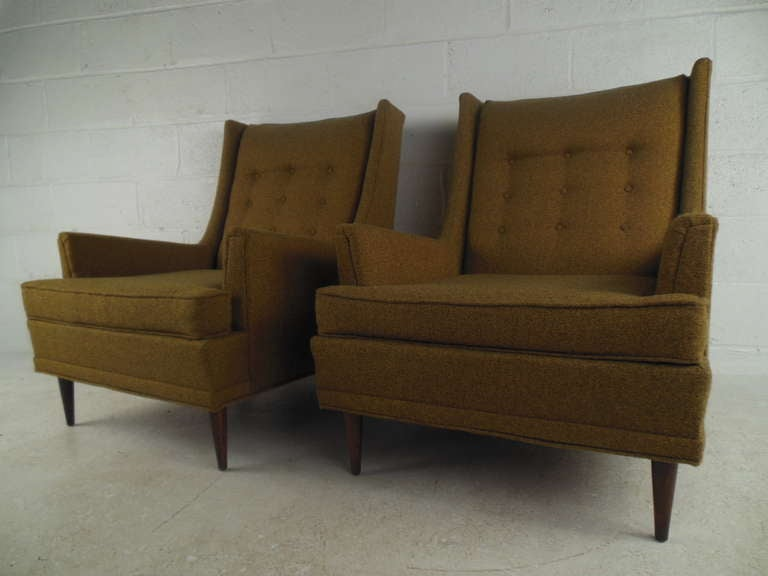 Mid Century Kroehler Lounge Chairs at 1stdibs