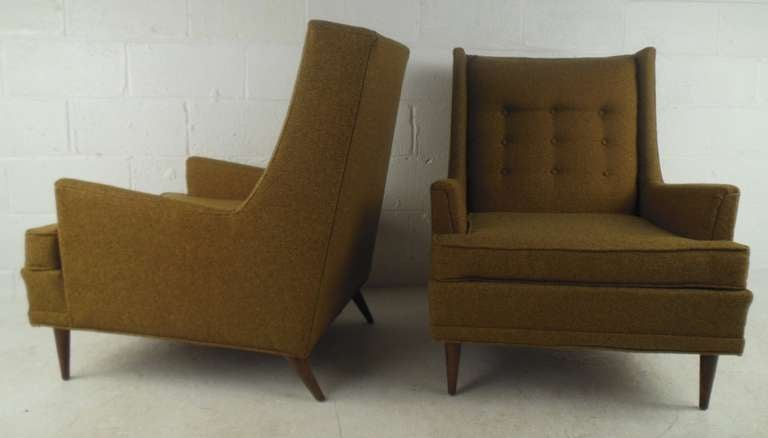 midcentury kroehler lounge chairs 3 - Kroehler Furniture