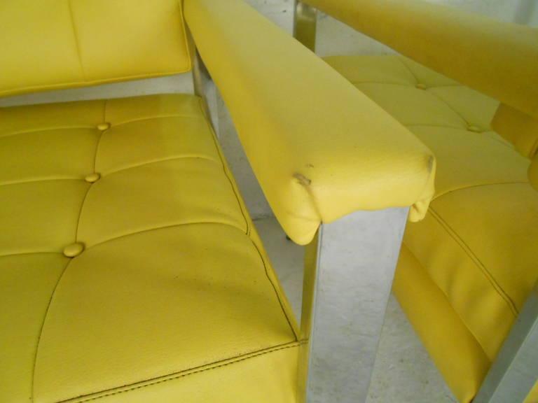 Mid-Century Modern Milo Baughman Armchairs For Sale 1