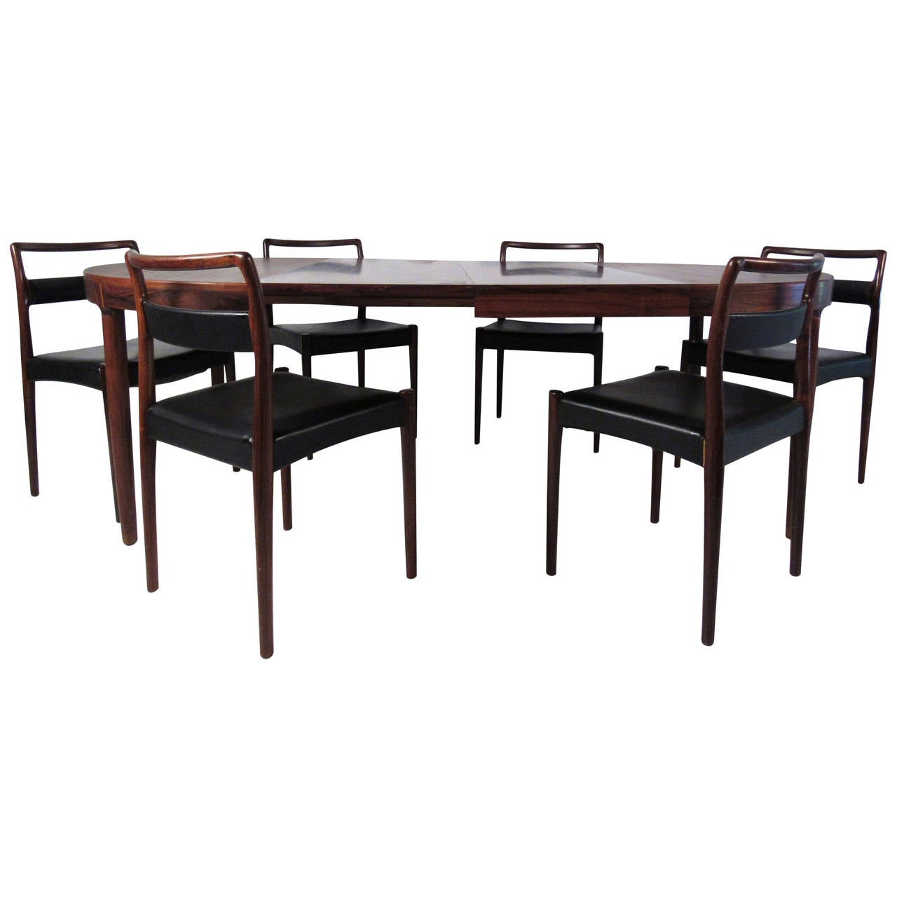 Mid-Century Modern Randers Mobelfabirk Dining Set For Sale