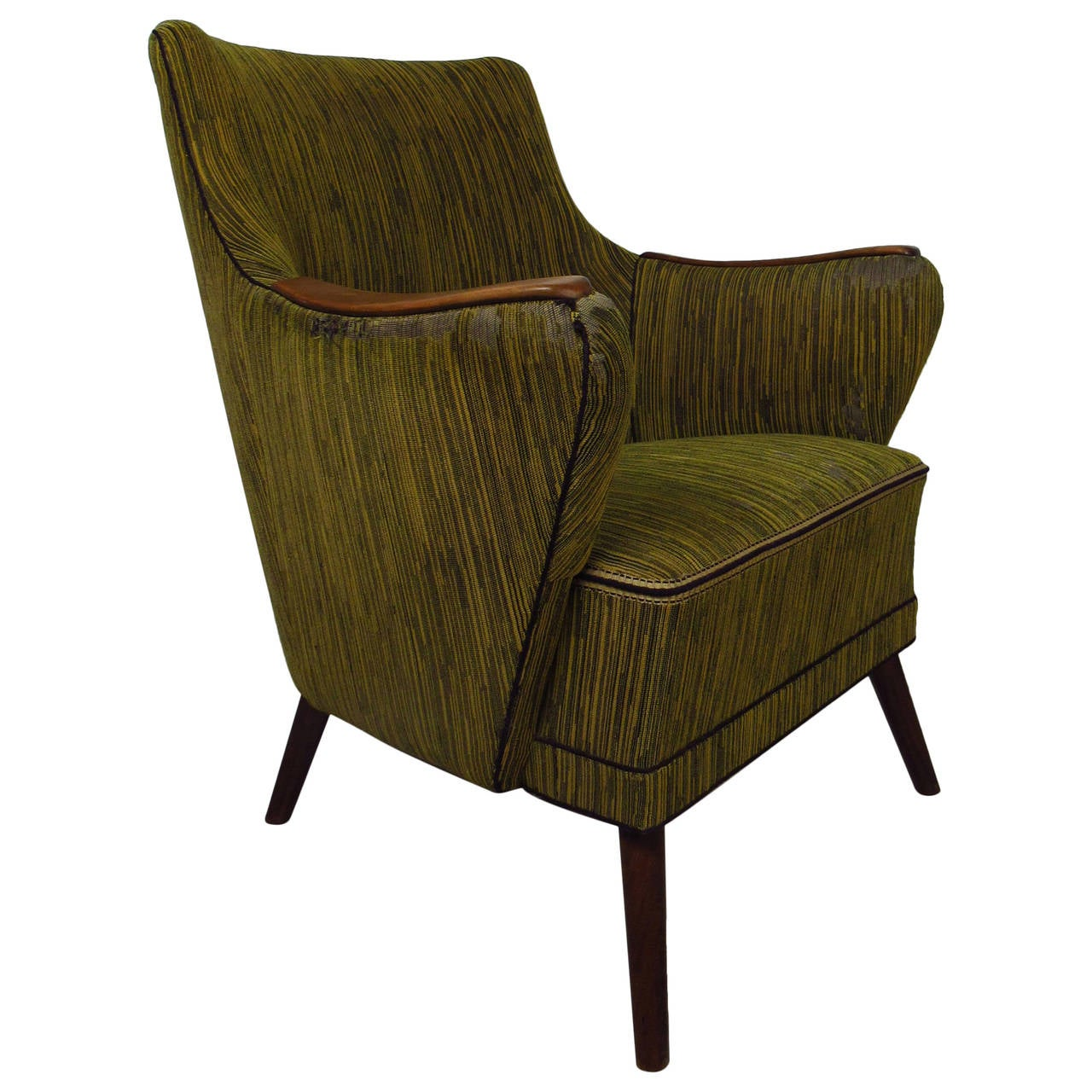 Midcentury Mogens Lassen Style Lounge Chair For Sale