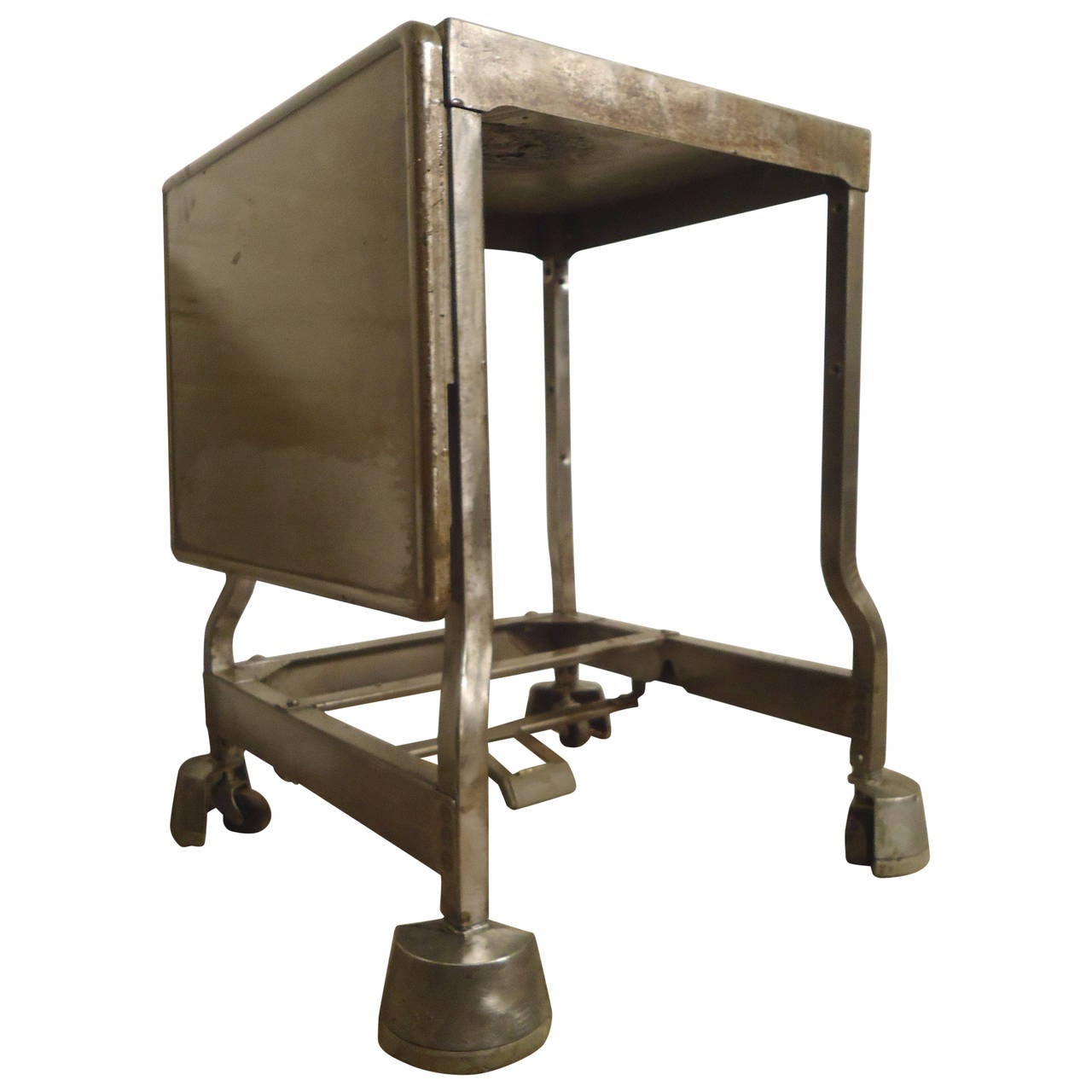 Industrial Metal Side Table