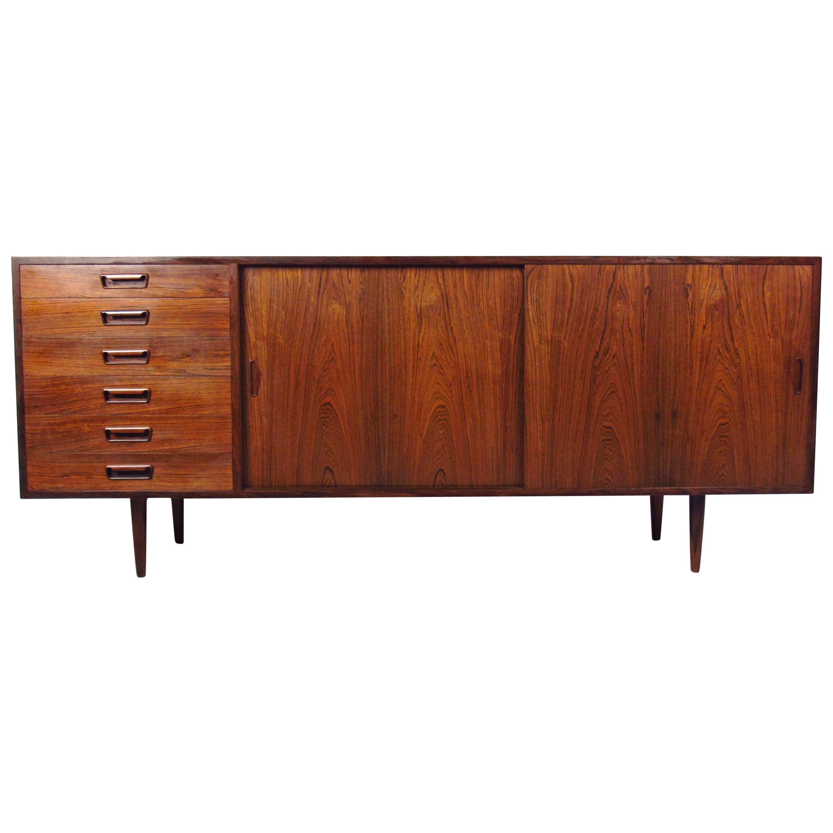 Exquisite Danish Rosewood Sideboard