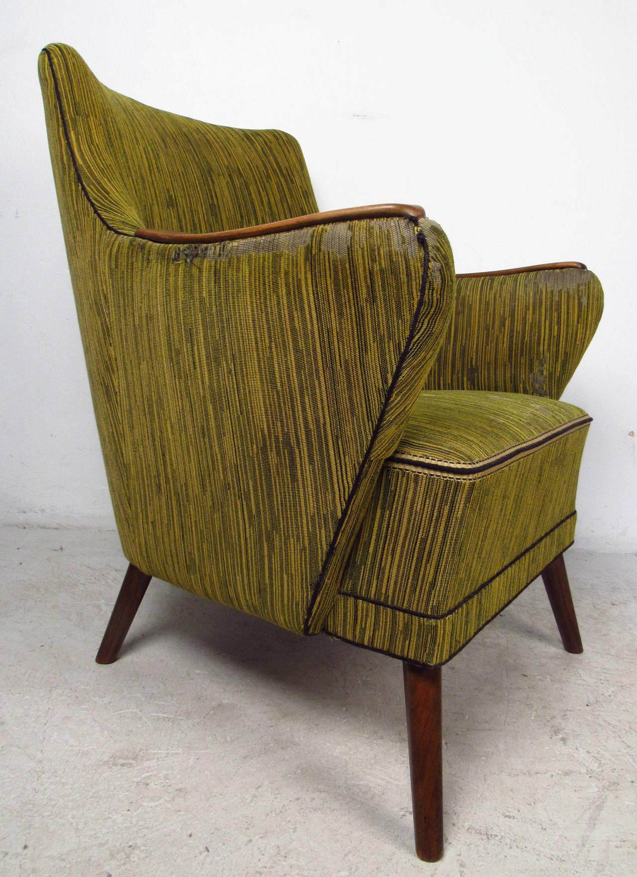 Mid-Century Modern Midcentury Mogens Lassen Style Lounge Chair For Sale