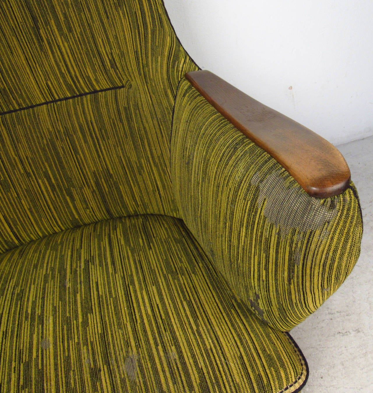 Mid-20th Century Midcentury Mogens Lassen Style Lounge Chair For Sale