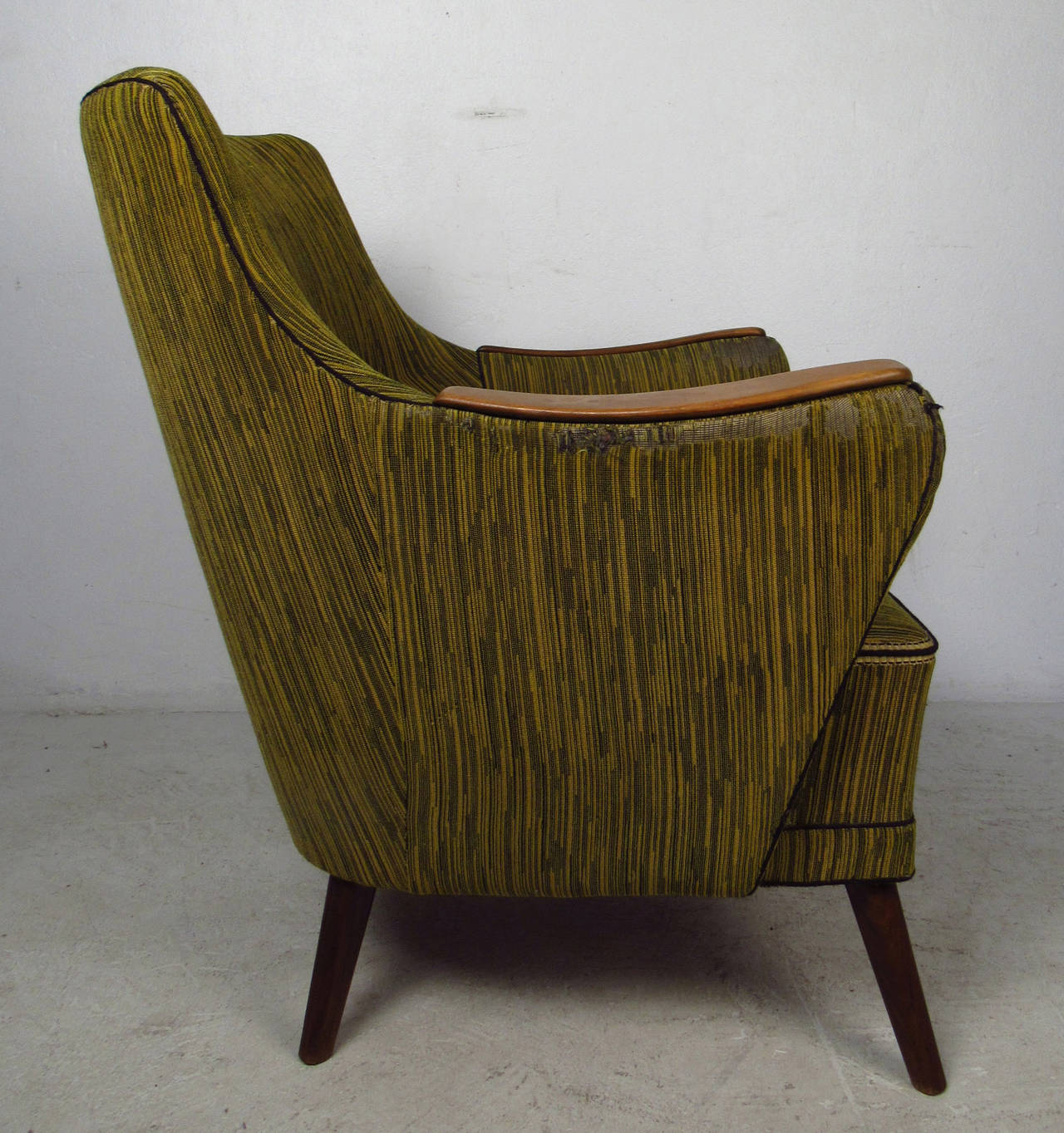 Midcentury Mogens Lassen Style Lounge Chair For Sale 4