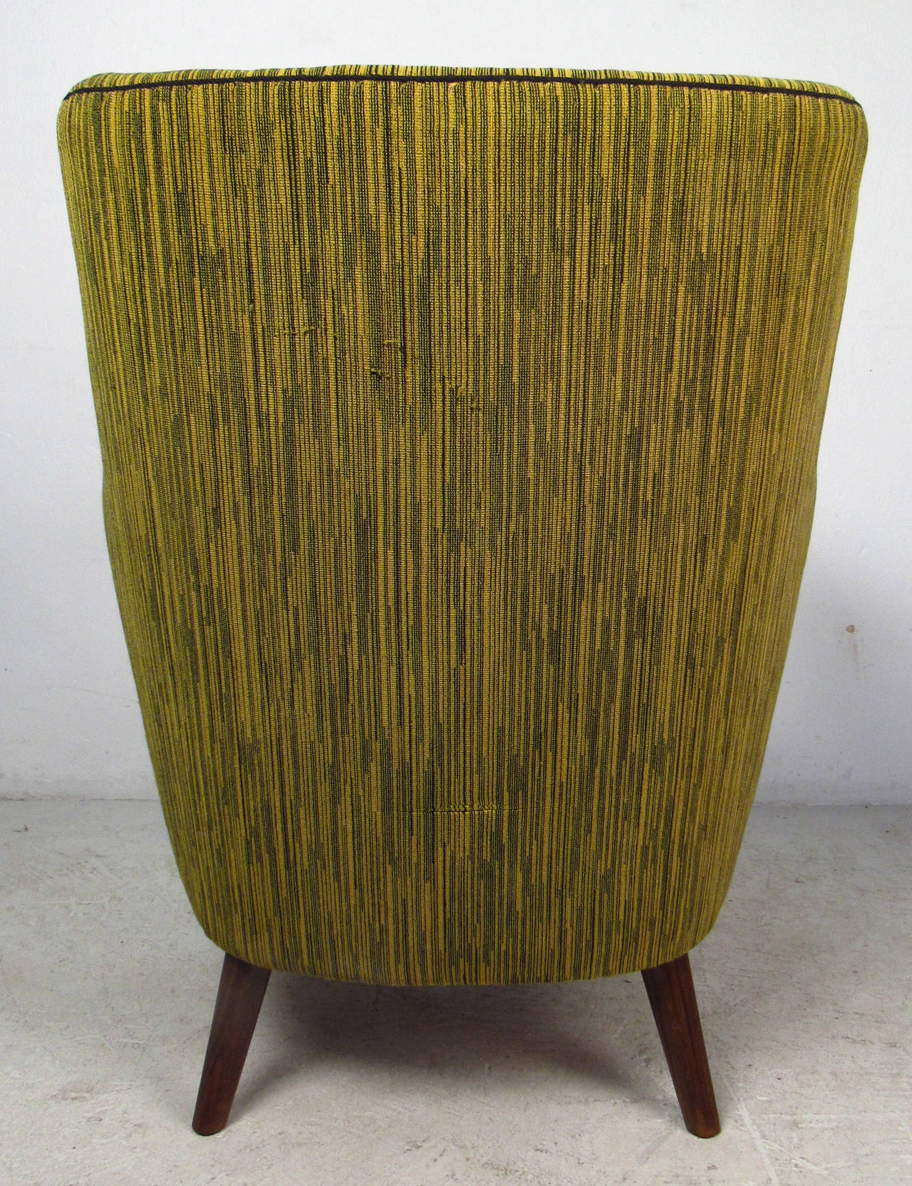 Midcentury Mogens Lassen Style Lounge Chair For Sale 2