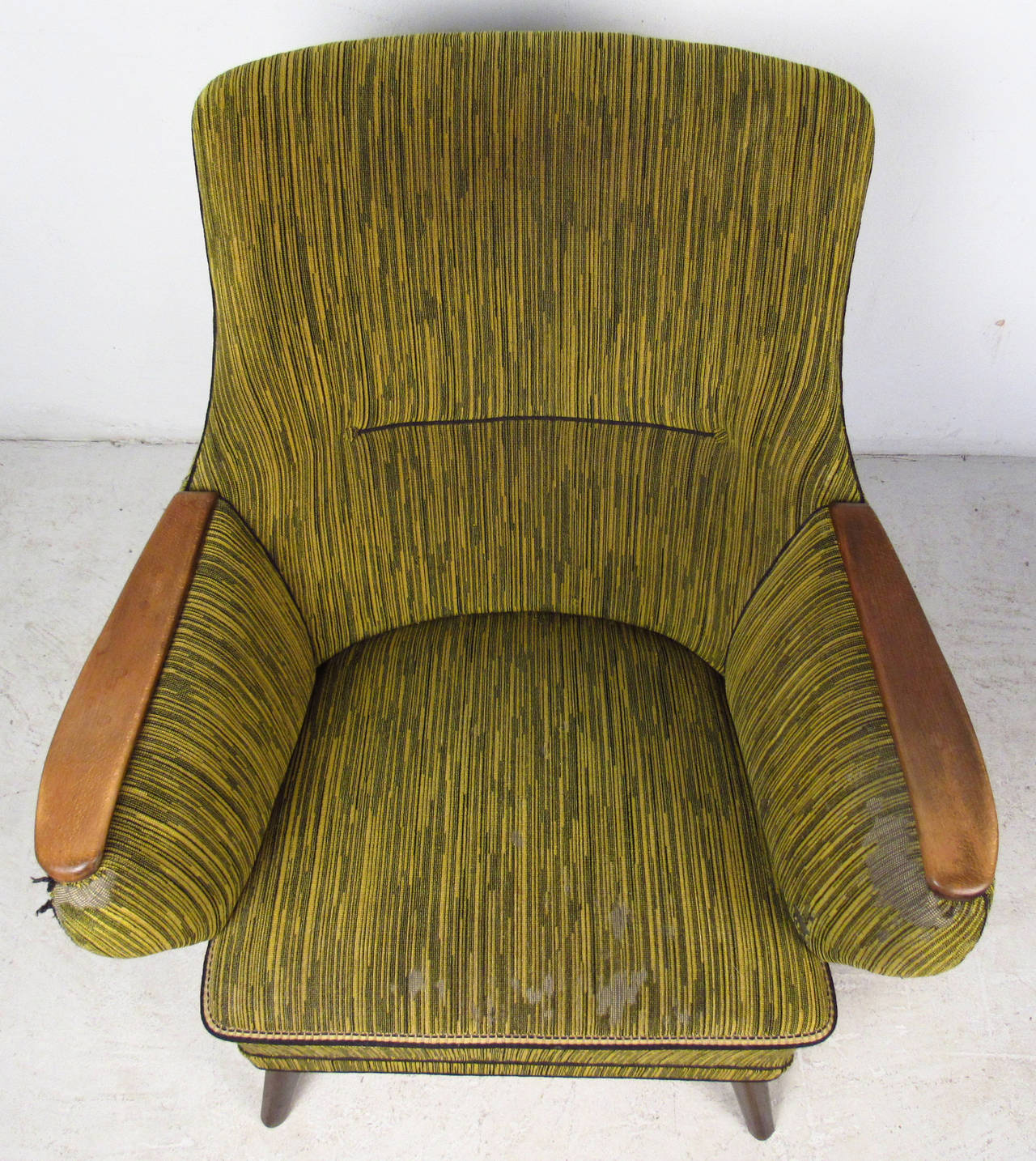 Midcentury Mogens Lassen Style Lounge Chair For Sale 3