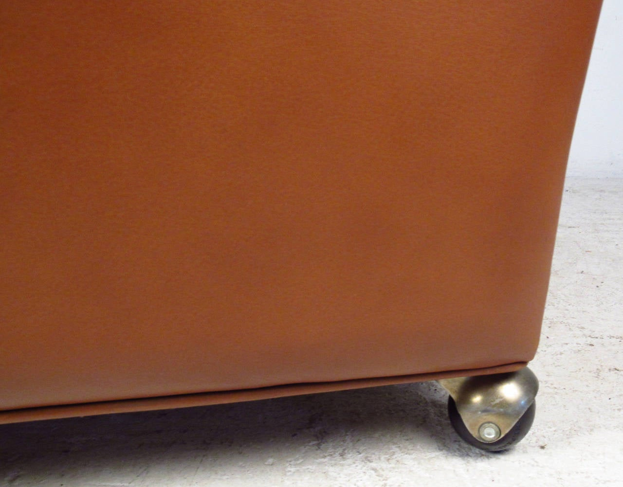 Børge Mogensen Leather Lounge Chair In Good Condition For Sale In Brooklyn, NY