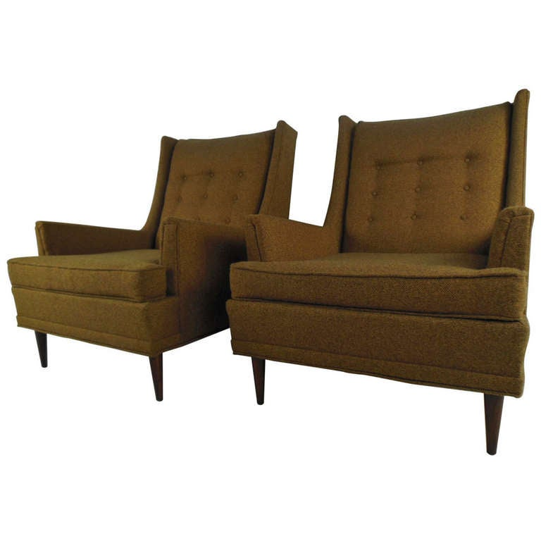 midcentury kroehler lounge chairs 1 - Kroehler Furniture