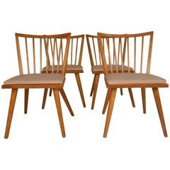 Set of Four Russel Wright Mid-Century Chairs