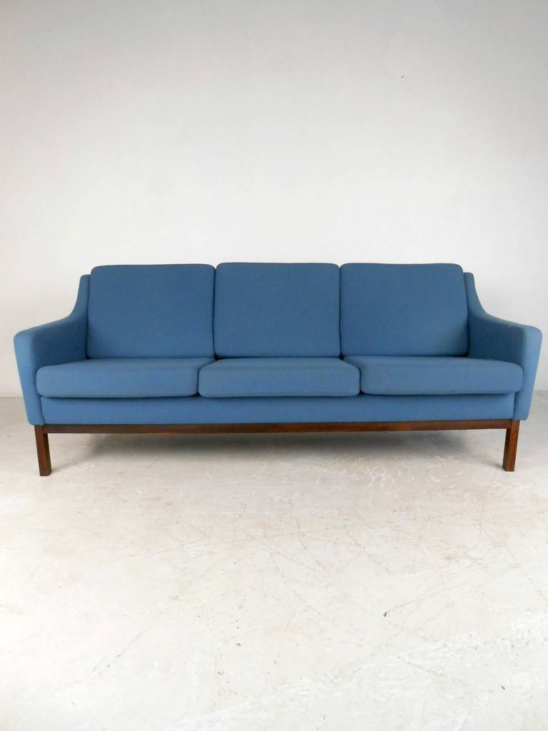 danish modern sofa by søren lund for sale at stdibs - danish modern sofa by søren lund