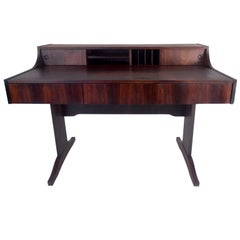 Scandinavian Rosewood Writing Desk