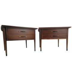 Pair of Midcentury Lamp Tables