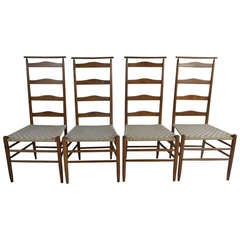 Ladderback Chairs by Nichols & Stone