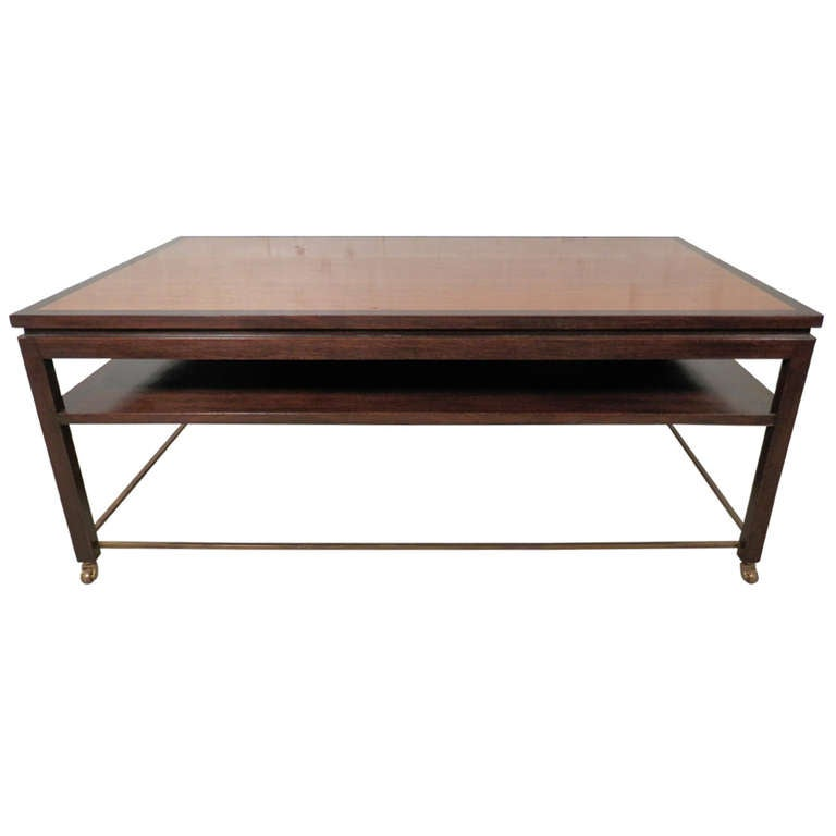 Edward Wormley Designed Coffee Table For Dunbar At 1stdibs