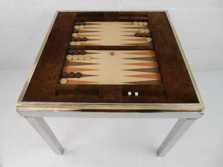 Delightful Willy Rizzo Backgammon Table 1