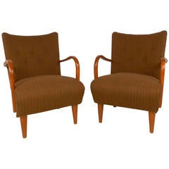 Pair of Vintage Italian Armchairs