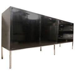 Rare Harvey Probber Black Mid-Century Sideboard