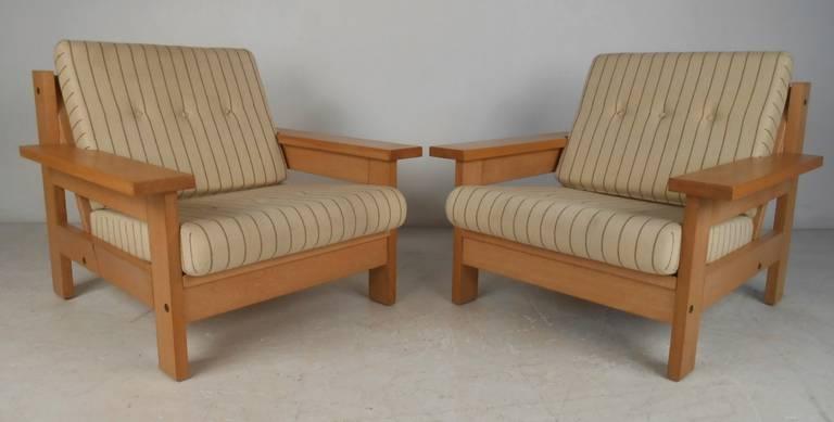Upholstery Mid-Century Modern Danish Living Room Suite For Sale