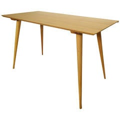 Paul McCobb Maple Dining or Console Table
