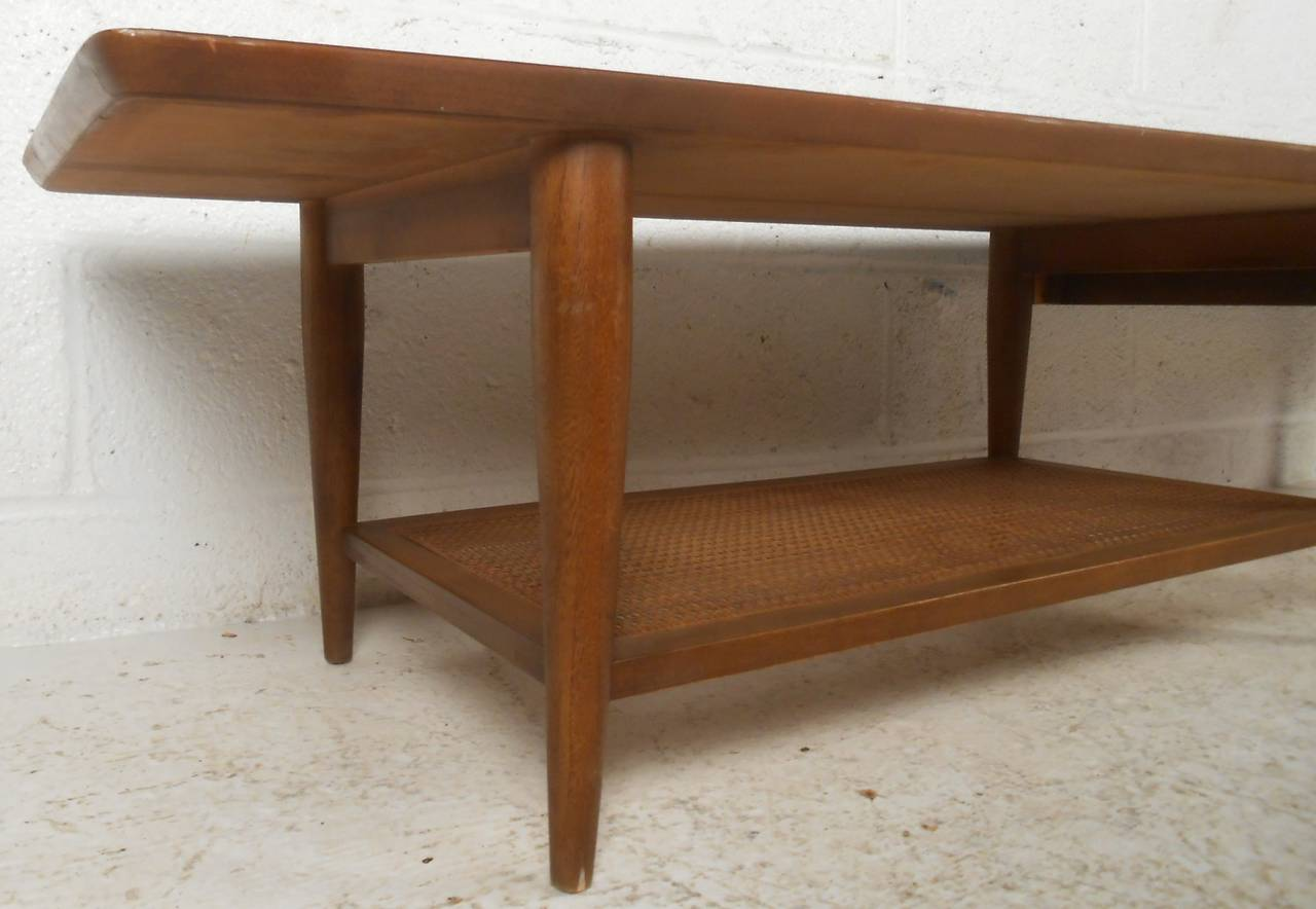 Lane Coffee Table With Drawer And Shelf For 3