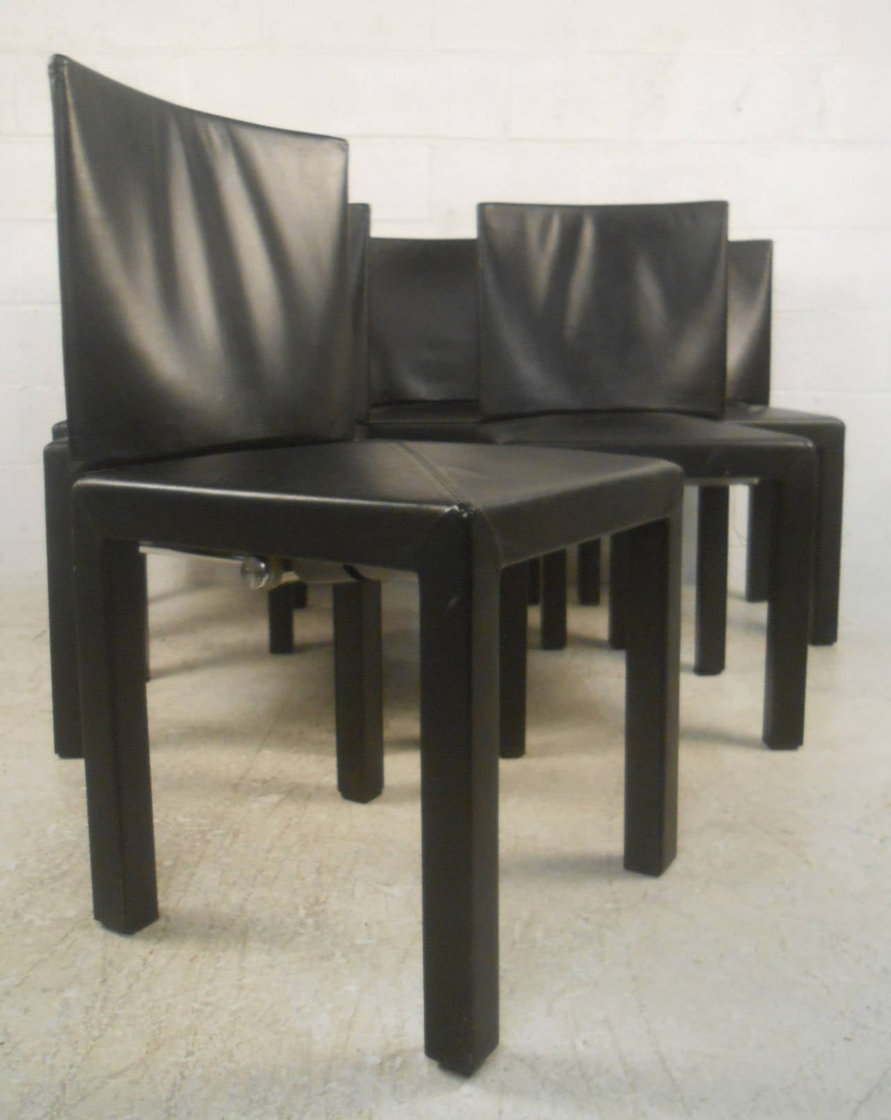 Midcentury Style set of six midcentury style paolo piva arcadia chairs for b&b