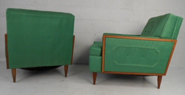 American Mid-Century Modern Lounge Chairs For Sale