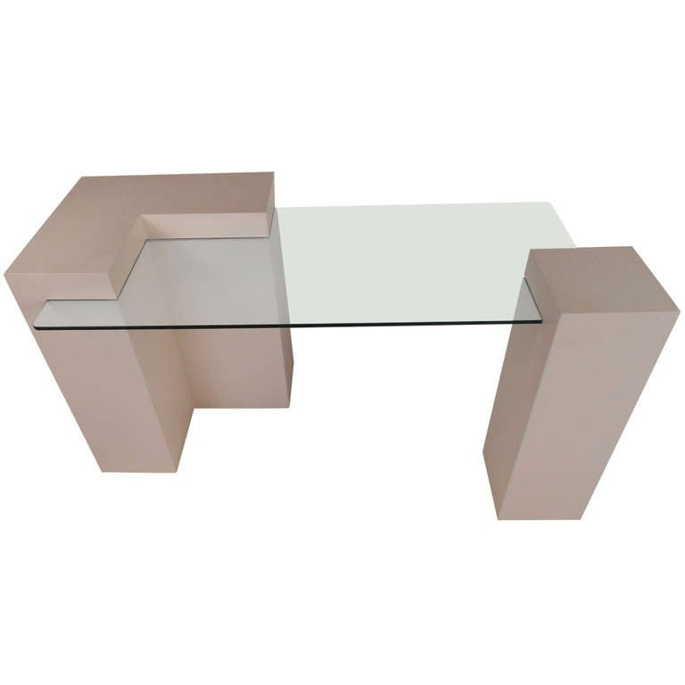 Vintage Contemporary Style Desk