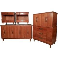 John Widdicomb Mid-Century Modern Bedroom Set
