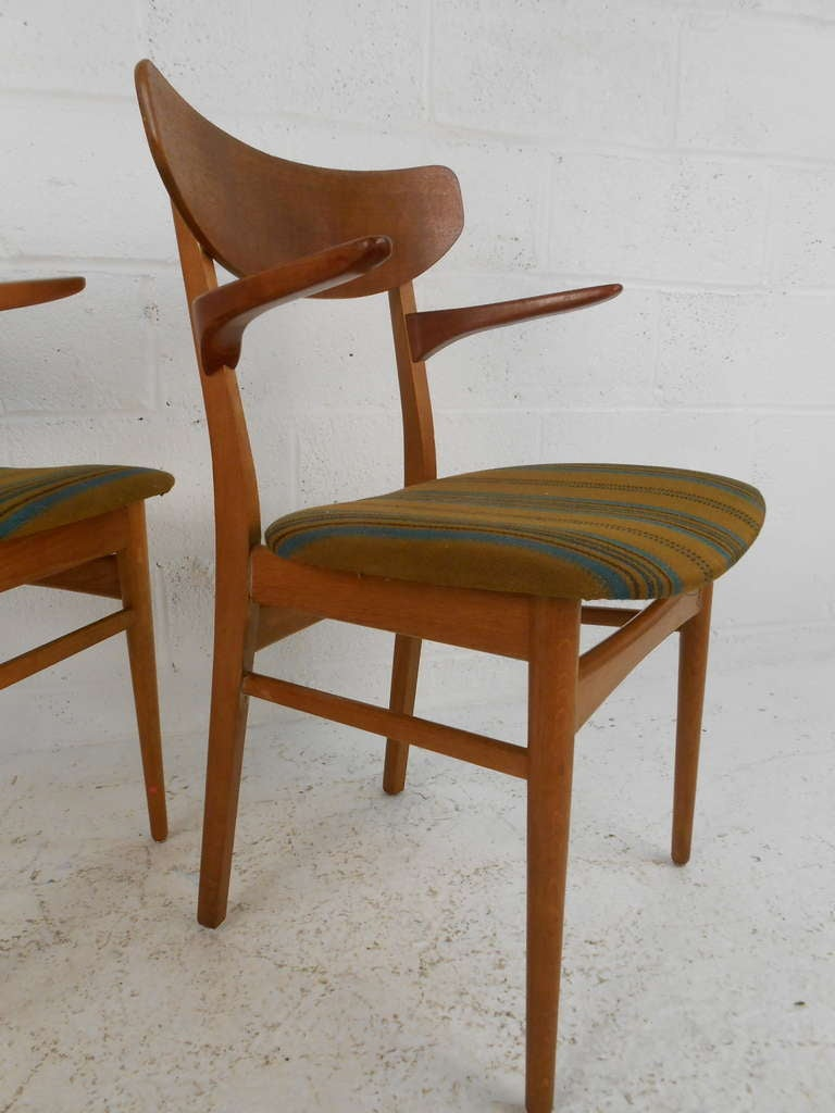 six danish modern dining chairs for sale at 1stdibs