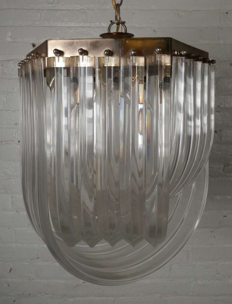 scout design chandelier lucite icicle large studio
