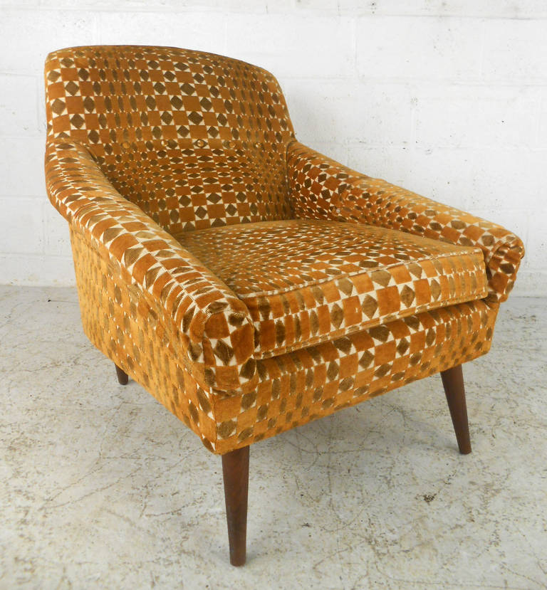 Unique Armchairs: Unique Mid-Century Modern Armchair At 1stdibs