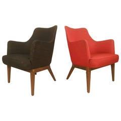 Scandinavian Modern Lounge Chair after Mogens Lassen