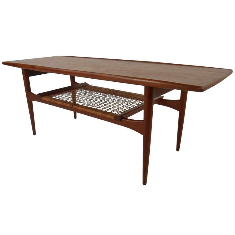 Scandinavian modern coffee table by hans wegner at 1stdibs for Modern coffee table for sale