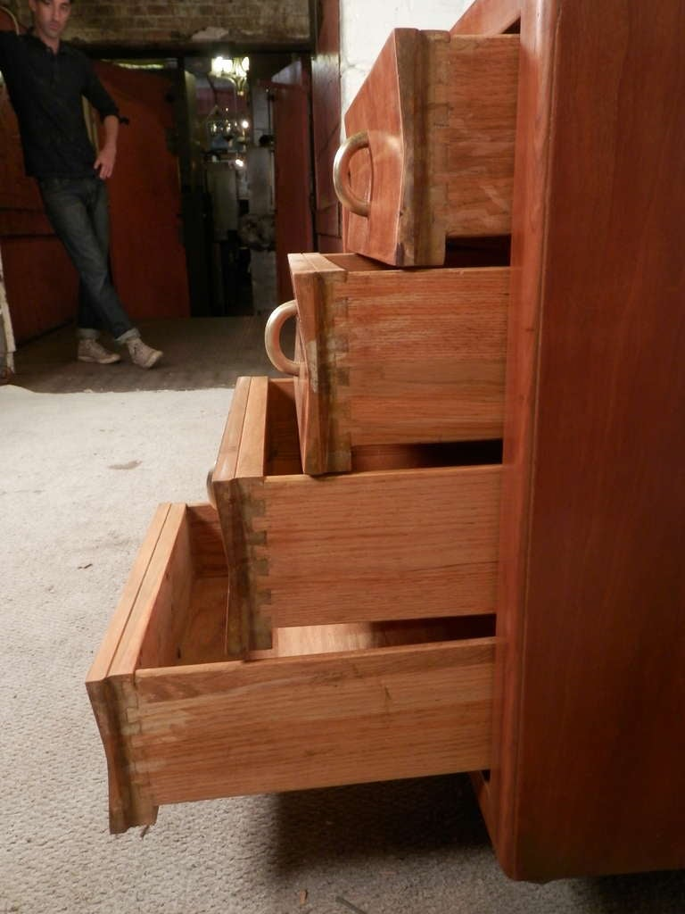 John Stuart Labeled Sliding Door Cabinet For Sale 1